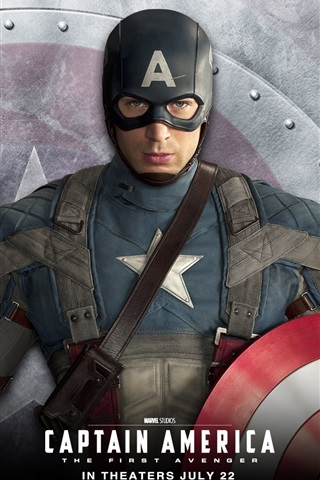 Chris Evans In Captain America The First Avenger 640x1136 Iphone 5