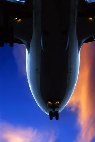 iPhone 배경 화면 닫기 공기 항공기