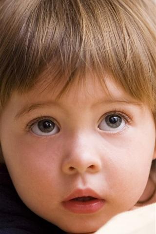 iPhone Wallpaper Cute little boy