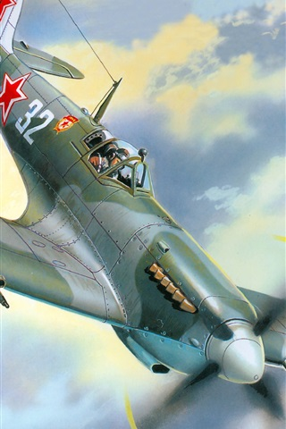 iPhone Wallpaper Dogfight victory