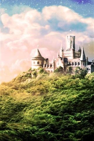 iPhone Wallpaper Dream Castle