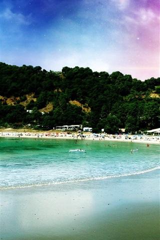 iPhone Wallpaper Dream beach