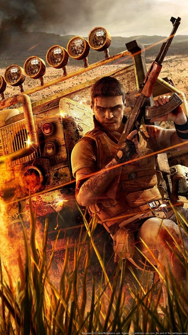 Far Cry 2 Hd 640x1136 Iphone 5 5s 5c Se Wallpaper Background