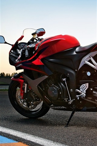 iPhone Wallpaper Honda CBR 2011 motorcycle