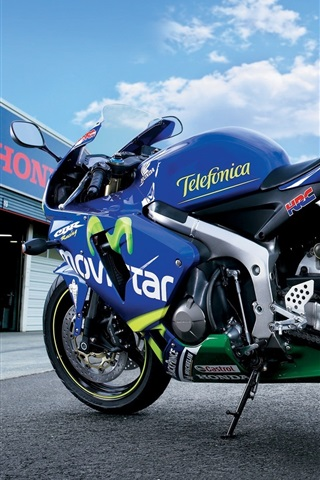 iPhone Wallpaper Honda CBR 600RR motorcycle