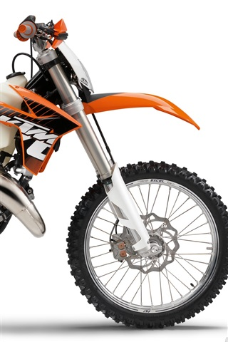 iPhone 배경 화면 KTM Offroad 125 실 오토바이 2,012