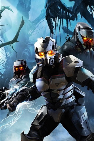 iPhone Wallpaper Killzone soldiers