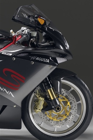 iPhone 배경 화면 MV Agusta Senna의 오토바이
