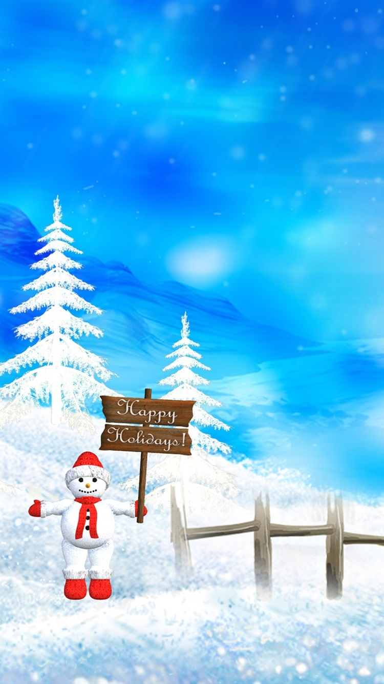 Wallpaper Merry Christmas Beautiful Snow Scene 2560x1600 Hd Picture Image