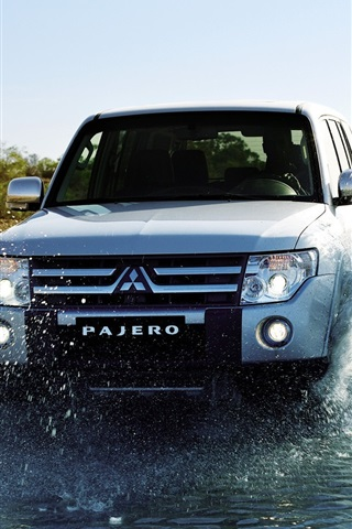 iPhone Wallpaper Mitsubishi Pajero Jeep