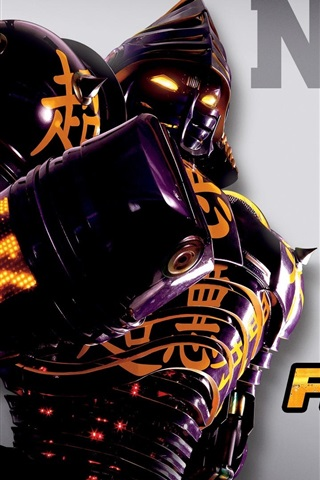 iPhone Wallpaper Noisy Boy in Real Steel