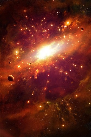 iPhone Wallpaper Supernova explosion