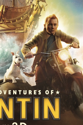 iPhone Wallpaper The Adventures of Tintin 2011