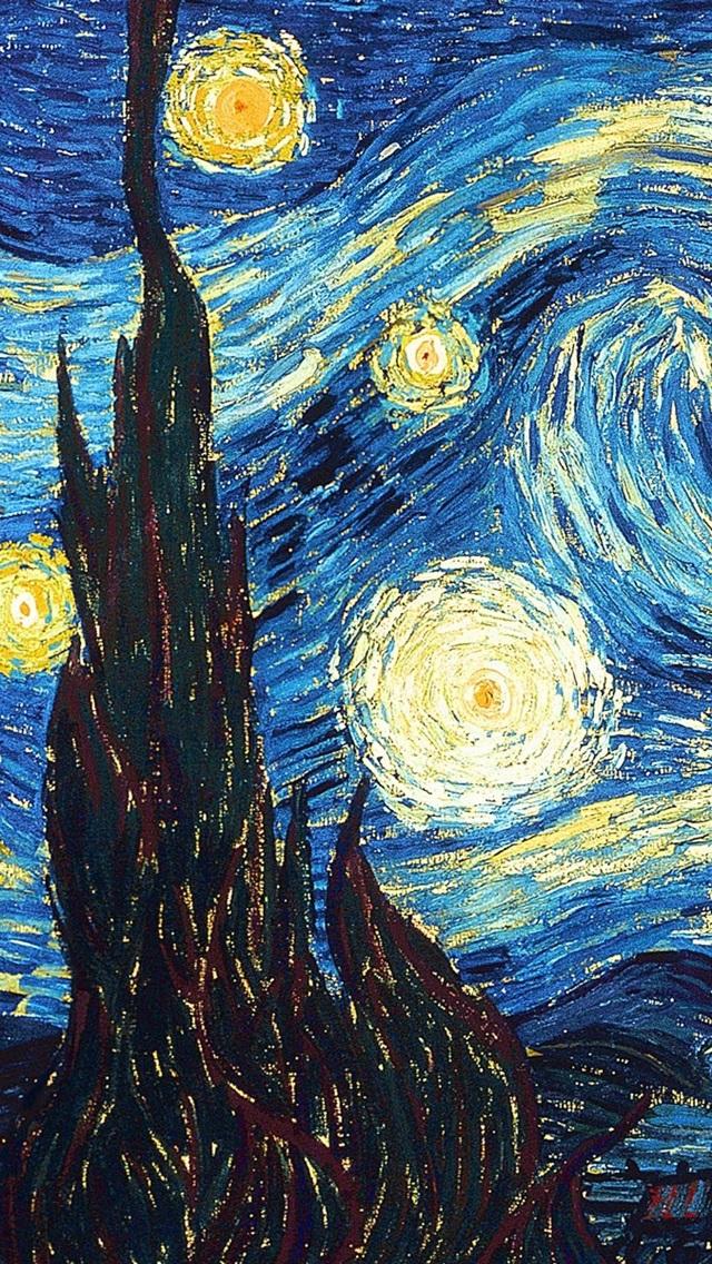 Vincent Van Gogh Sternennacht 1920x1200 Hd