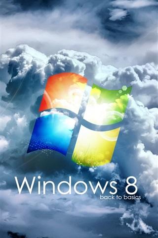 iPhone Papéis de Parede Windows 8 back to basics