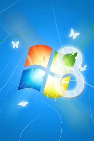 iPhone 배경 화면 윈도우 8 꿈의 행복