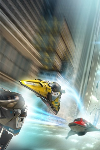 iPhone Wallpaper WipEout 2048