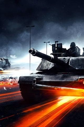 iPhone 배경 화면 전장 3 탱크에게