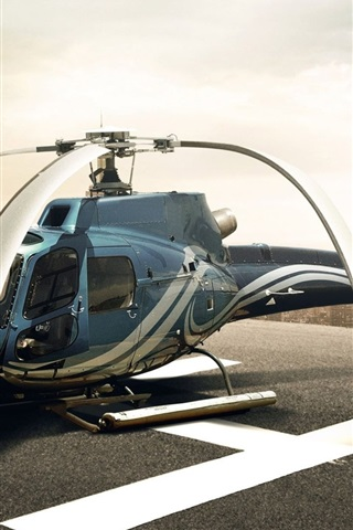 iPhone Papéis de Parede Lâminas de helicóptero drooping