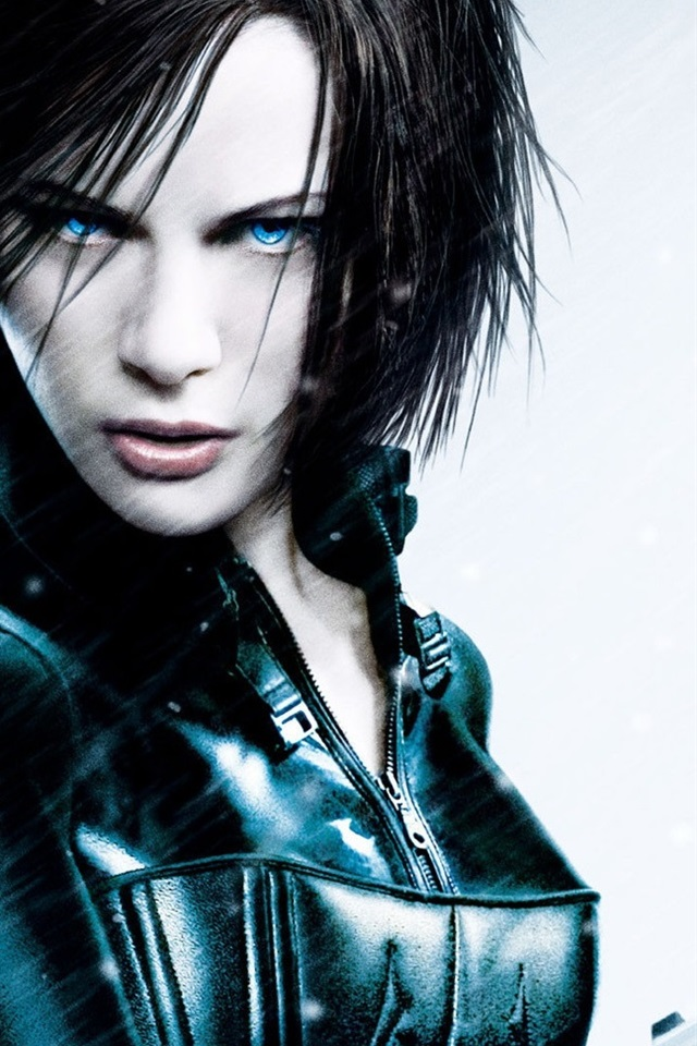 Kate Beckinsale In Underworld 4 640x960 Iphone 4 4s Wallpaper Background Picture Image
