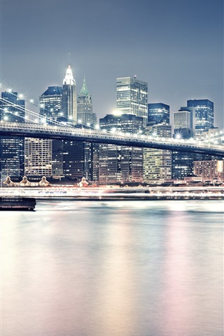 iPhone Wallpaper New York City United Brooklyn