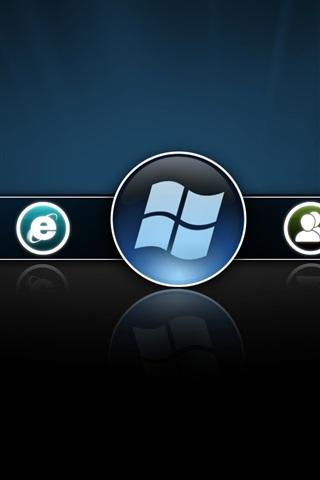 iPhone Papéis de Parede Versão beta do Windows 8