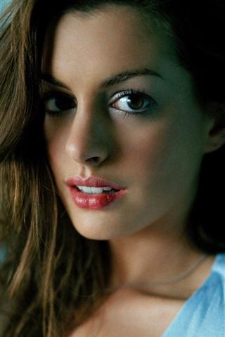 iPhone Wallpaper Anne Hathaway 02