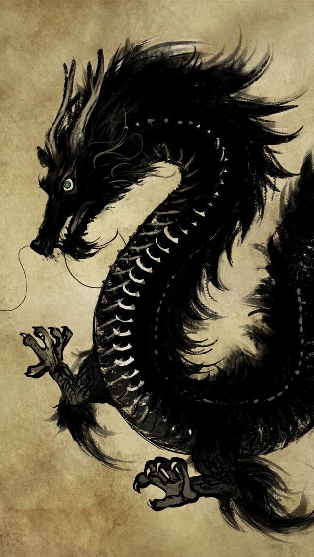 китайский дракон картинки для телефона