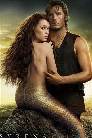 iPhone Hintergrundbilder Mermaid in Pirates of the Caribbean