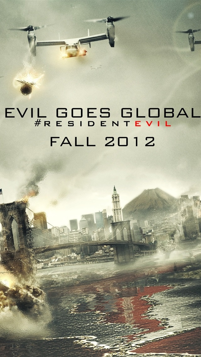 Resident Evil Retribution 2012 750x1334 Iphone 8 7 6 6s Wallpaper
