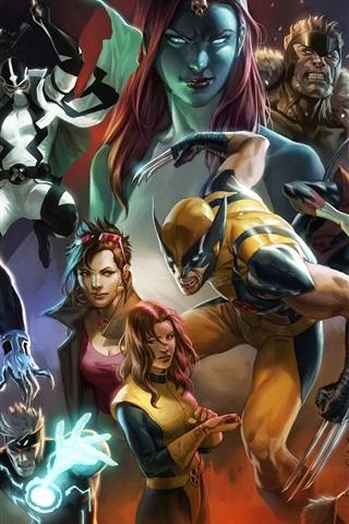 iPhone Hintergrundbilder X-Men Comics