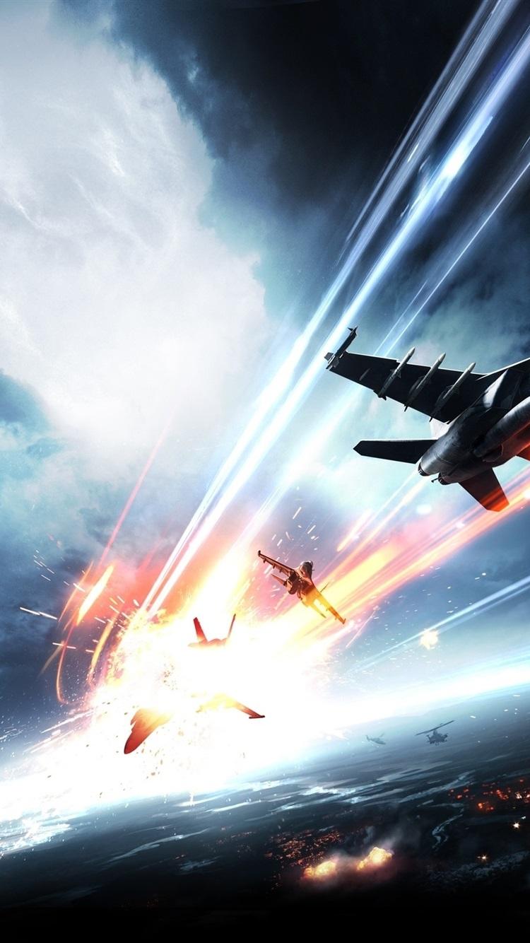 Battlefield 3 Air Combat 750x1334 Iphone 8 7 6 6s Wallpaper