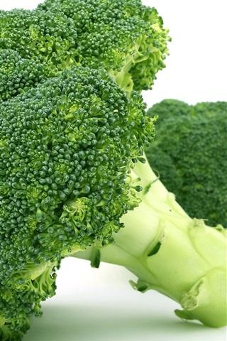 iPhone Wallpaper Broccoli vegetables