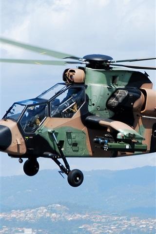 iPhone Обои Камуфляж вертолет
