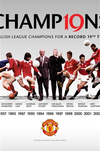 iPhone Wallpaper Manchester United football