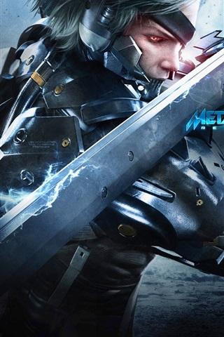 iPhone Papéis de Parede Levante de Metal Gear: Revengeance
