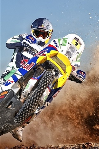 iPhone Wallpaper Motorcycle cross drift
