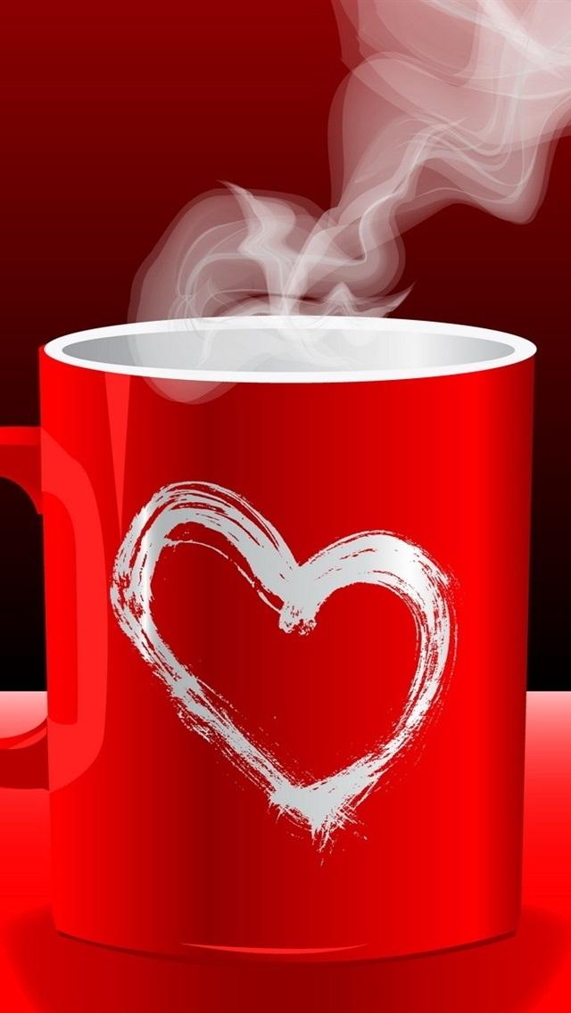 гифы чашка кофе с сердечком это