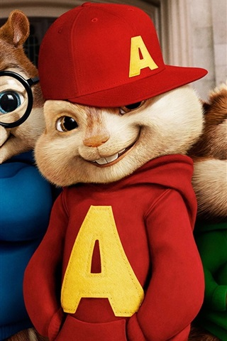 Alvin And The Chipmunks Movie Wide 640x1136 Iphone 5 5s 5c Se