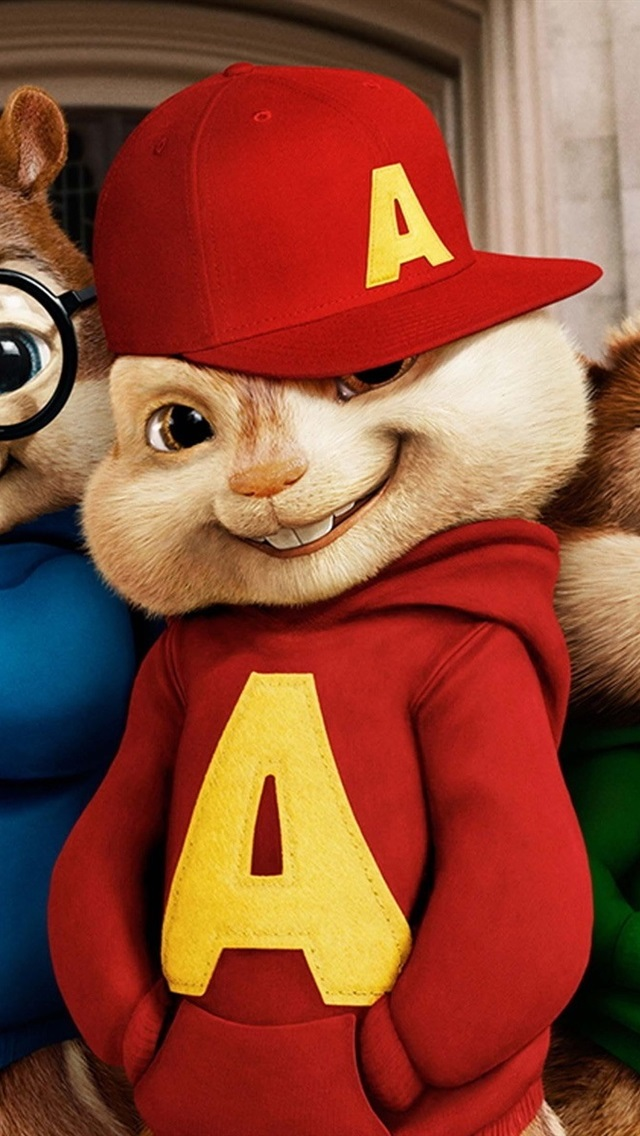 Wallpaper Alvin and the Chipmunks movie wide 1920x1200 HD