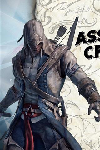 iPhone Wallpaper Assassin's Creed III HD
