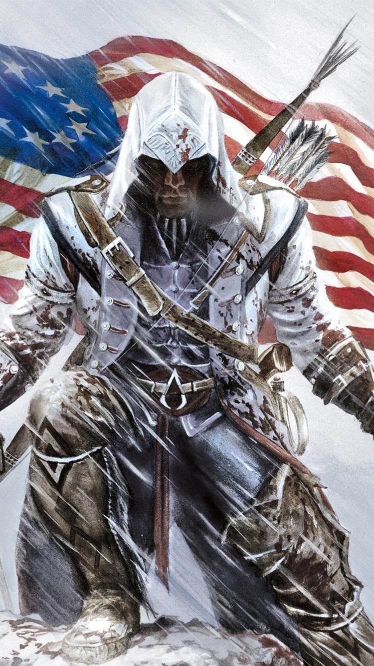 Assassin S Creed Iii 750x1334 Iphone 8 7 6 6s Wallpaper
