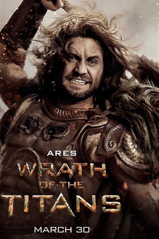 iPhone Wallpaper Edgar Ramirez in Wrath of the Titans