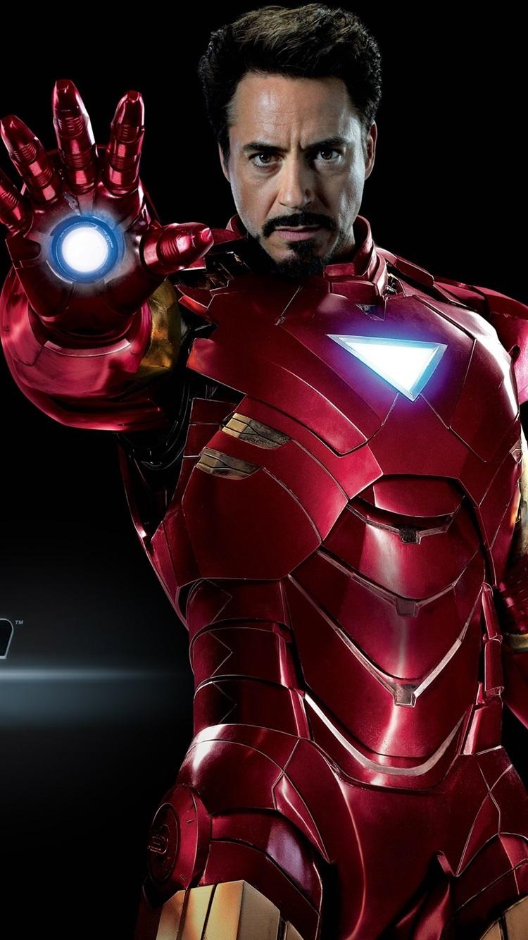Fonds d'écran Iron Man dans The Avengers 2560x1600 HD image