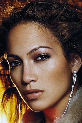 iPhone Hintergrundbilder Jennifer Lopez 01