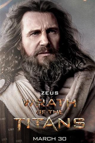iPhone Papéis de Parede Liam Neeson em Wrath of the Titans