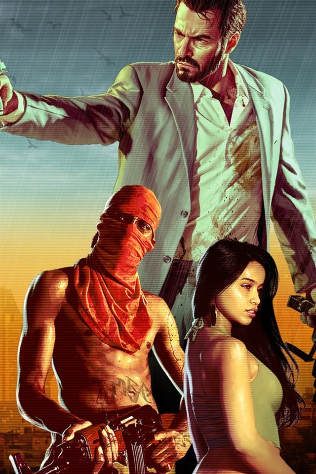 Max Payne 3 640x1136 Iphone 5 5s 5c Se Wallpaper Background
