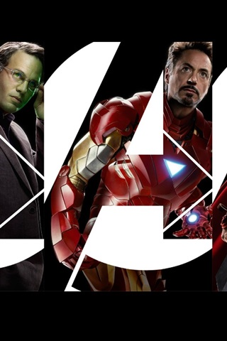iPhone Wallpaper The Avengers HD
