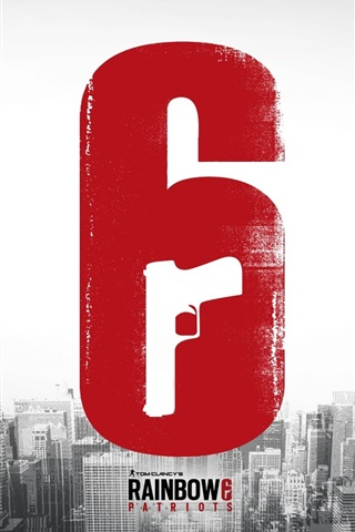 iPhone Wallpaper Tom Clancy's Rainbow Six: Patriots