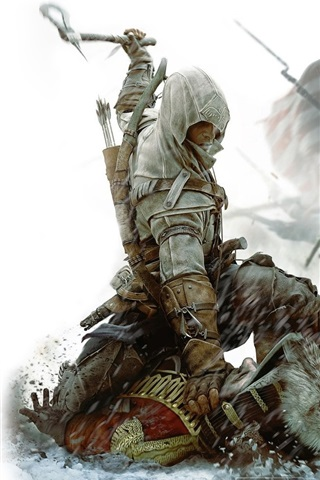 iPhone Wallpaper Ubisoft Assassin's Creed 3